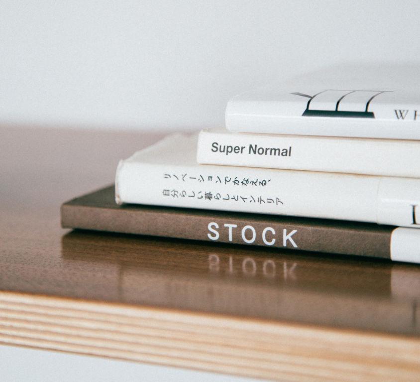 Graphic design stylish books (Demo)